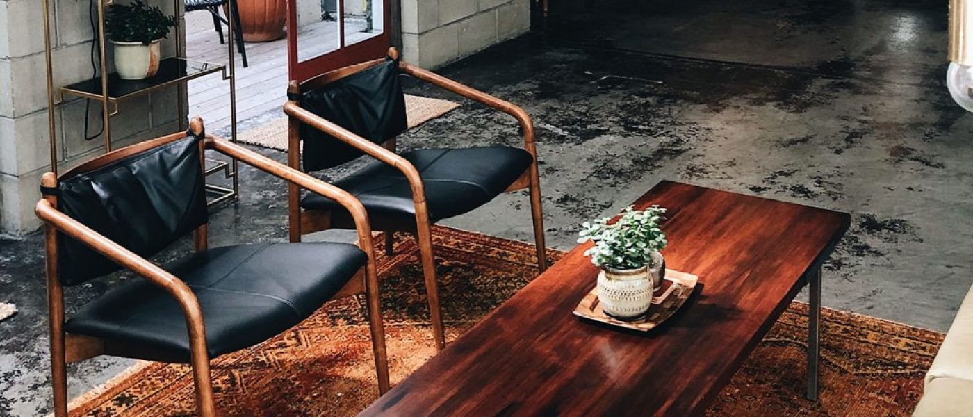 Perfect industrial style furniture