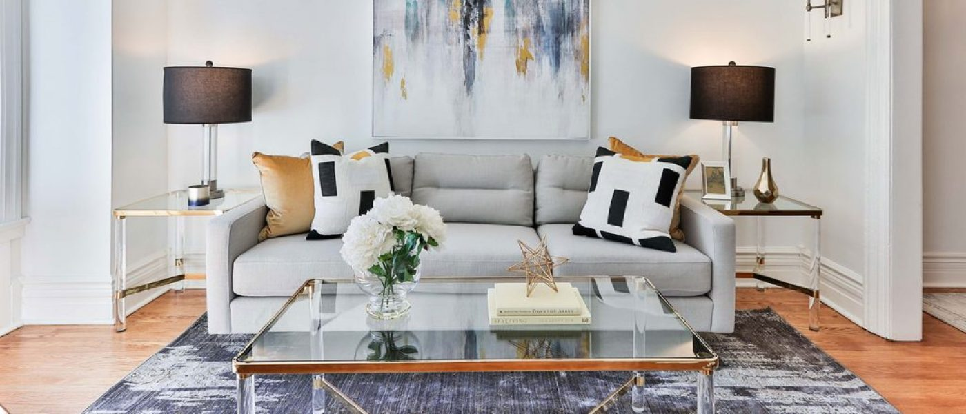 Modern living room interiors