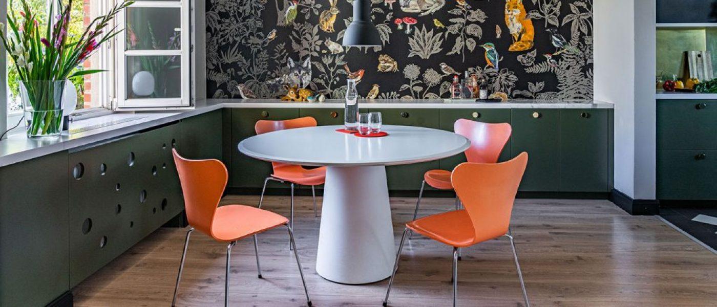 Retro dining furniture
